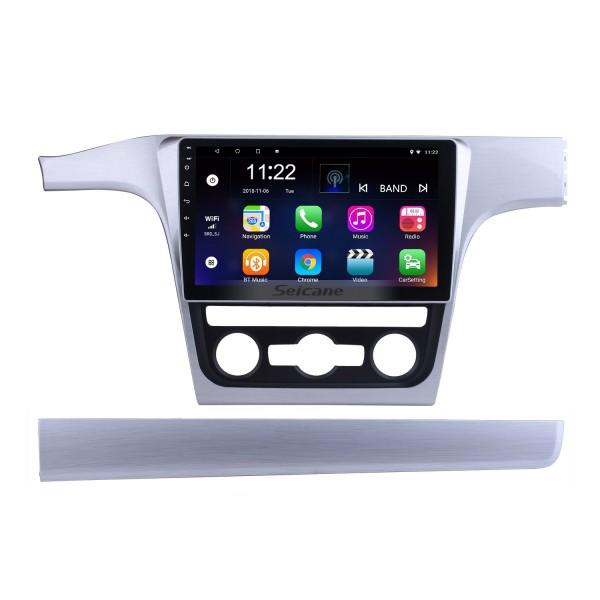 10,2 polegadas Android 5.0.1 2013 2014 2015 VW Volkswagen Passat Rádio com 4G Wifi Bluetooth Espelho Fazer a ligação CPU Quad Core Touchscreen Controle Volante