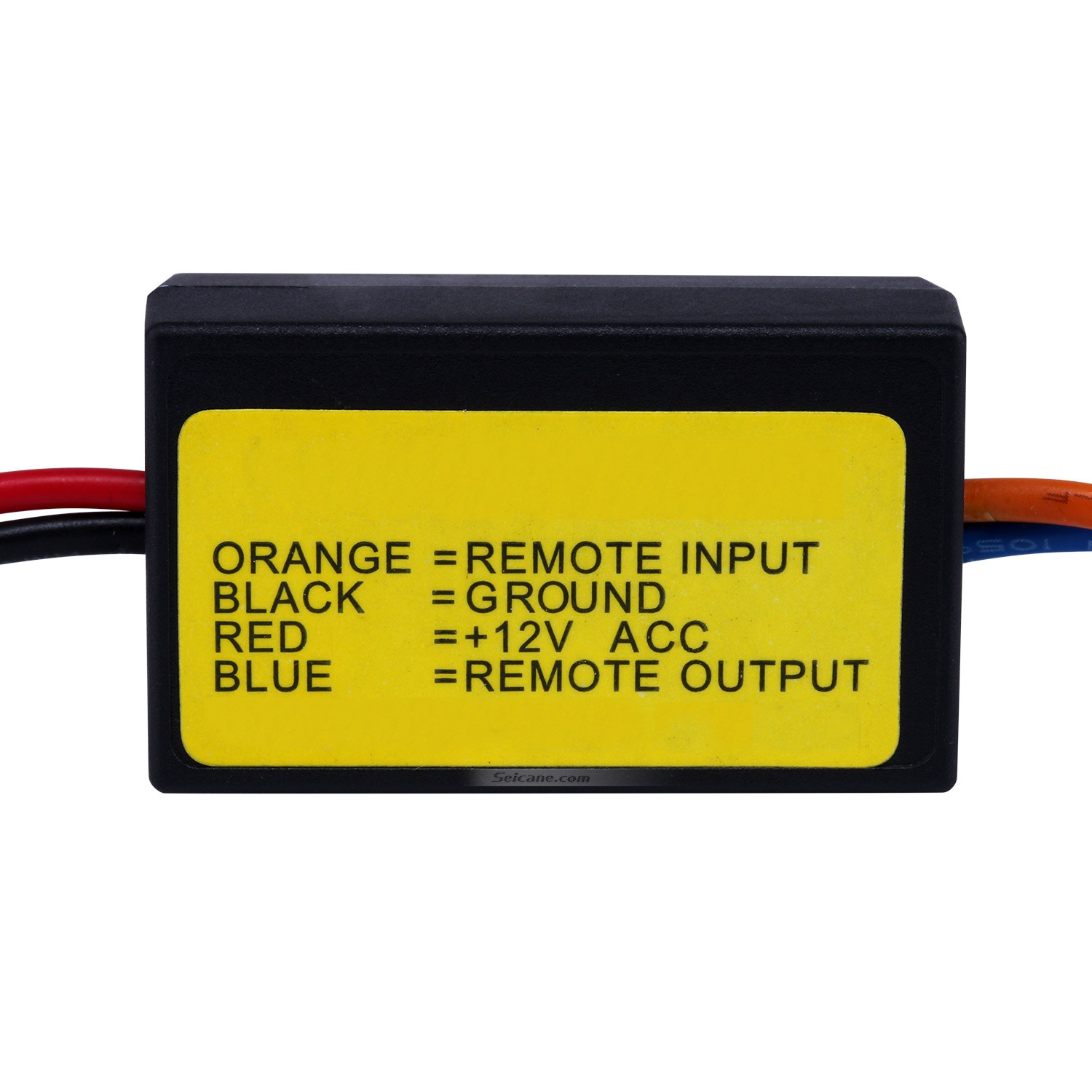 Car Wire Harness Audio Power Amplifier Time Delayer