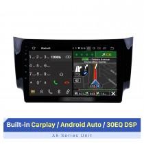 10,1 polegadas 2012 2013 2014 2015 2016 NISSAN SYLPHY HD TouchScreen GPS Sistema de navegação unidade principal Android 10.0 FM / AM / RDS rádio Suporte TPM OBD II DVR USB Bluetooth