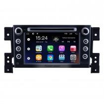 OEM 7 polegadas Android 9.0 para 2006 2007 2008 2009 2010 Suzuki Grand Vitara Rádio Bluetooth HD Touchscreen Sistema de Navegação GPS suporte Carplay