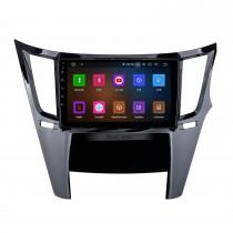 HD Touchscreen de 9 polegadas Android 10.0 para Subaru Outback Radio Sistema de navegação GPS Bluetooth Carplay com suporte para câmera de backup