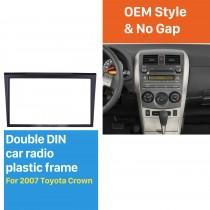 173 * 98 Maravilhoso Duplo Din 2007 Toyota Crown Car Rádio Fascia Estrutura Estéreo Instalar Kit de Montagem Dash Face Plate