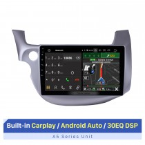 10,1 polegadas Android 10.0 GPS rádio carro estéreo para 2007-2013 Honda FIT motorista esquerdo WIFI Bluetooth HD 1024 * 600 Tela de toque SWC Sistema de navegação OBD2 DVR câmera retrovisor TV USB 1080P vídeo