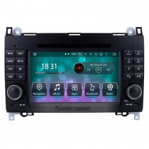 2004-2012 Mercedes Benz A classe W169 A150 A170 Android 8.0 sistema de Navegação GPS DVD Player 7 polegada HD Touchscreen Rádio WIFI Bluetooth Música USB SD Carplay SWC