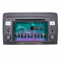 Android 8.0 HD Touchscreen Rádio DVD Player para 2003-2007 Fiat Idea Head Unit Sistema de navegação GPS Bluetooth Phone WIFI Suporte Backup Camera 1080P Vídeo OBDII DVR Controle do volante