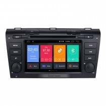 2004-2009 Mazda 3 Android 9.0 Radio GPS DVD Player com Espelho Ligação OBD2 3G WiFi Bluetooth HD 1024 * 600 Multi-touch Capacitiva HD 1080p Vídeo AUX