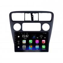 Android 10.0 HD Touchscreen de 9 polegadas para Honda Six Accord 2001 Sistema de navegação GPS por rádio com suporte para Bluetooth Câmera traseira Carplay