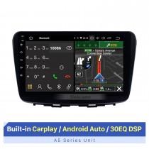 HD Touchscreen 2015-2017 Suzuki BALENO 9 polegadas Android 10.0 Sistema de navegação GPS para carro Auto Radio com WIFI Bluetooth música USB FM Suporte SWC Digital TV OBD2 DVR