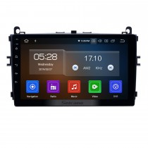 OEM 9 polegadas Android 9.0 GPS Navigation Radio for 2016-2017 Baic E Series E130 E150 / EV Series EV160 EV200 / Senova D20 Bluetooth HD Touchscreen Carplay suporte TPMS