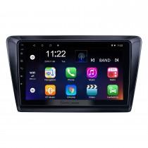 Android 10.0 HD Touchscreen 9 polegadas para 2017 Skoda Rapid Radio Sistema de Navegação GPS com suporte Bluetooth Carplay Câmera traseira