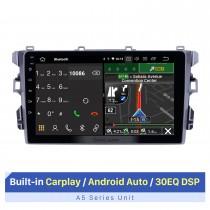 9 polegadas 2010-2018 BYD G3 Android 10.0 Rádio de navegação GPS WIFI Bluetooth HD Touchscreen com suporte para TPMS DVR