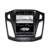 10,4 polegadas para FORD Focus 2012-2021 GPS Navigation Radio Android 9.0 WIFI Bluetooth HD com suporte para touchscreen 1080P Mirror Link Steering Wheel Control