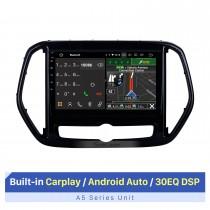 10,1 polegadas Para 2019 2020 Chery Jetour X70 Radio Android 10.0 Sistema de navegação GPS com Bluetooth HD Touchscreen com suporte para Carplay TV digital