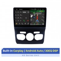 10,1 polegadas Android 10.0 Car Multimedia Player para 2013 2014 2015 2016 Citroen C4L LHD GPS Navi Radio Bluetooth Wifi FM USB Mirror Link suporte OBD 1080P Video DVD Player SWC Backup Camera DVR