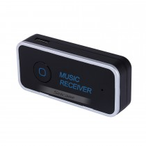 Universal Portable Car Audio Receiver Hands-free Bluetooth Music Receiver Compatível com o telefone Pad Android PC