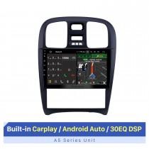 2003-2009 Hyundai Sonata Android 10.0 9 polegadas Rádio de navegação GPS Bluetooth HD Touchscreen WIFI USB Suporte para Carplay TV digital