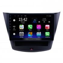 Android 10.0 HD Touchscreen de 10,1 polegadas para rádio Wuling Hongguang S Sistema de navegação GPS com suporte para Bluetooth Câmera traseira Carplay