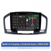 2009-2013 Buick Regal Android 10.0 9 polegadas Rádio de navegação GPS Bluetooth HD Touchscreen USB Suporte para música TPMS DAB + 1080P