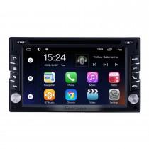 6.2 polegadas Android 9.0 para Universal Radio GPS Sistema de Navegação com HD Touchscreen Bluetooth suporte Carplay Mirror Link