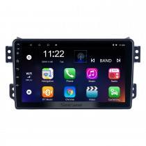 Para 2008-2014 OPEL Agila 2008-2012 SUZUKI Rádio Splash Ritz Android 10.0 HD Touchscreen Sistema de navegação GPS de 9 polegadas com suporte a WIFI Bluetooth Carplay DVR