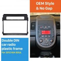 173 * 98 milímetros 2Din 2012 Installation Kit Kia Soul Radio Car Fascia DVD Quadro guarnição de áudio adaptador de montagem