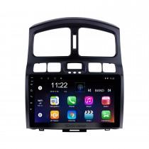 9 polegada 2005-2015 Hyundai Clássico Santa Fé HD Touch screen Cabeça Unidade de Navegação GPS AUX MP3 Bluetooth Estéreo Do Carro TV Sintonizador Câmera Retrovisor