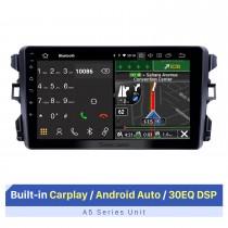 2010-2018 BYD G3 Android 10.0 9 polegadas Rádio de navegação GPS Bluetooth HD Touchscreen USB com suporte para DVR DAB + SWC