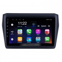 OEM 9 polegada Android 10.0 HD Touchscreen Bluetooth Rádio para 2017-2019 SUZUKI Swift com Navegação GPS USB FM auto estéreo Wi-fi AUX suporte DVR TPMS Backup Câmera OBD2 SWC