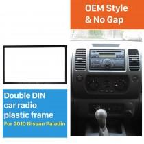 173 * 98mm Double Din 2010 Nissan Paladin Kit de Instalação de Fascia de Rádio de Carro Kit de Painel de Quadro Estéreo