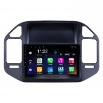 Android 10.0 9 polegadas para 2004 2005 2006-2011 Mitsubishi Pajero V73 Rádio HD Touchscreen GPS Sistema de Navegação com suporte Bluetooth Carplay Câmera traseira