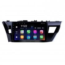 10,1 polegadas HD Touchscreen Android 10.0 para 2014 TOYOTA COROLLA LHD Rádio Sistema de navegação GPS Bluetooth DVR Carplay USB WIFI Música Câmera retrovisor