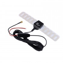 Hot Sale Car TV Digital DVB-T 2in1 FM/Radio Antenna Aerial Booster SMA Connector