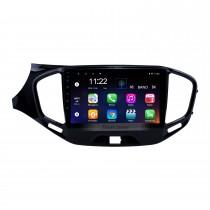 2015-2019 Lada Vesta Cross Sport Android 10.0 HD Touchscreen 9 polegadas GPS Navigation Radio com suporte Bluetooth Carplay SWC