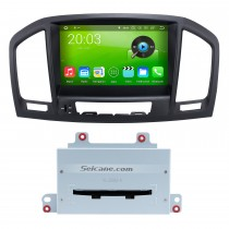 Aftermarket 8 polegadas Android 8.0 2008-2013 Opel Vauxhall Insignia Buick Regal Car Audio Sistema de Navegação GPS com HD 1024 * 600 Touch Screen Música Bluetooth MP3 3G WiFi Leitor de DVD 1080P AUX Steering Wheel Control Backup Camera