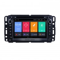 2 Din Android 10.0 Radio Head Unit for 2009 2010 2011 GMC Chevy Chevrolet Express VAN Traverse com HD 1024 * 600 touchscreen GPS Sat Nav DVD Player Sistema de áudio WiFi Bluetooth Bluetooth Link de espelho Vídeo 1080P