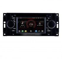 Aftermarket Android 8.1 DVD Player Sistema de navegação GPS para 2002-2007 Dodge Durango Dakota P / U com OBD2 Bluetooth Radio Mirror link Tela de toque DVR Câmera de backup TV USB SD 1080P Vídeo WIFI Controle do volante