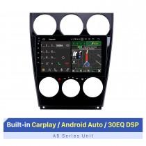 Android 10.0 9 polegadas 2002-2008 Old Mazda 6 HD Touchscreen Bluetooth Rádio GPS Navegação com suporte para Carplay DVD Player 1080P TV digital SWC 4G WIFI DVR
