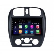 Android 10.0 HD Touchscreen de 9 polegadas para 2002-2008 Mazda 323 / FAW Harma Preema / Ford Laser Rádio para carro para dirigir canhoto Sistema de navegação GPS com suporte para Bluetooth Carplay Ar condicionado manual traseiro