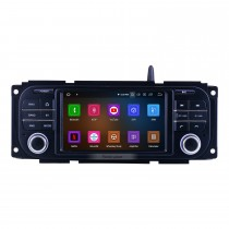 Para 2002-2005 2006 2007 Dodge Radio Android 10.0 Sistema de navegação GPS com Bluetooth HD Touchscreen com suporte para TV digital