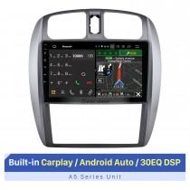 Tela sensível ao toque HD de 9 polegadas para 2002-2008 Mazda 323 09 FAW Haima Preema Ford Laser AUTO AC Autoradio Bluetooth Suporte de rádio automotivo OBD2