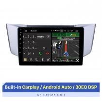 2003-2010 Lexus RX300 RX330 RX350 Android 10.0 10,1 polegadas Rádio de navegação GPS Bluetooth HD Touchscreen USB com suporte para DAB + SWC