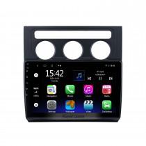 10,1 polegadas Android 10.0 para 2004-2008 Volkswagen Touran Manual A / C Radio com Bluetooth HD Touchscreen Sistema de navegação GPS com suporte para Carplay DAB +