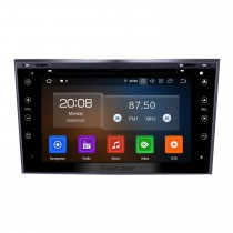 2005-2011 Opel Zafira Android 10,0 7 polegadas Multi-touch Capacitve DVD Player GPS Navi Radio Bluetooth WIFI music Controle do volante