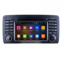 7 polegadas Android 10.0 para 2006 2007 2008-2013 Mercedes Benz Classe R W251 R280 R300 R320 R350 R500 R63 Rádio Navegação GPS com tela sensível ao toque HD Carplay Suporte Bluetooth DVR