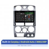 Rádio automotivo Android Auto com GPS Navi para 2006-2012 Isuzu D-MAX MU-7 Chevrolet Colorado com RDS 30EQ DSP com suporte para tela sensível ao toque Bluetooth-