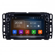 2 Din Android 10.0 Radio Head Unit for 2009 2010 2011 GMC Chevy Chevrolet Express VAN Traverse com HD 1024 * 600 touchscreen GPS Sat Nav DVD Player Sistema de áudio WiFi Bluetooth Mirror Link 1080P Video