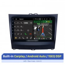 """Tela sensível ao toque HD de 9 """"para 2014-2015 BYD L3 Autoradio Car Stereo com Bluetooth Carplay com suporte para exibição em tela dividida"""