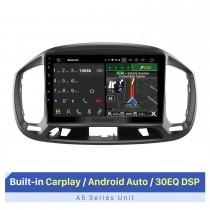 Melhor navegação GPS de áudio para carro com Carplay para 2015 Fiat UNO LHD Suporte Bluetooth WIFI Câmera AHD Tela dividida