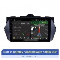 """Tela sensível ao toque HD de 9 """"para 2016 Suzuki Alivio estéreo automotivo consertando rádio estéreo com suporte para Bluetooth 1080p player de vídeo"""