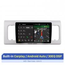 Tela sensível ao toque HD de 9 polegadas de instalação fácil 2016 SUZUKI Alto 600 Auto estéreo rádio automotivo Sistema de áudio automotivo Bluetooth Suporte a telefone Bluetooth Câmera AHD
